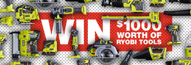 Sign up to Ryobi Newsletter